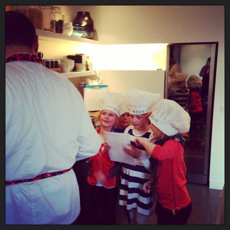 Kinderkookworkshop met vleugels
