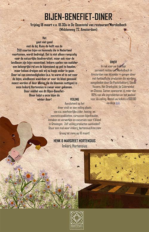 Bijen Benefiet Diner…
