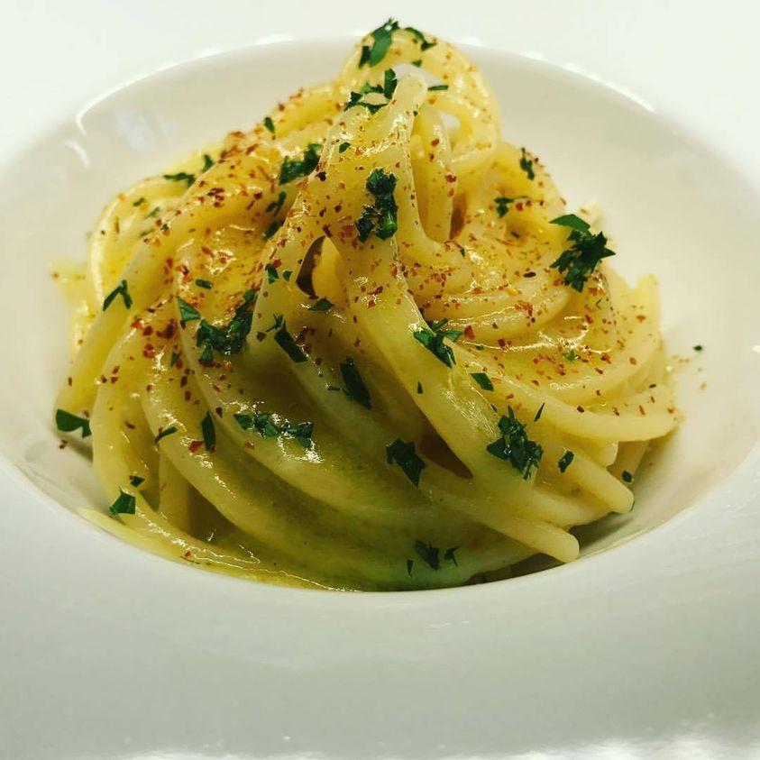 Spaghetti aglio, olio e peperoncino…