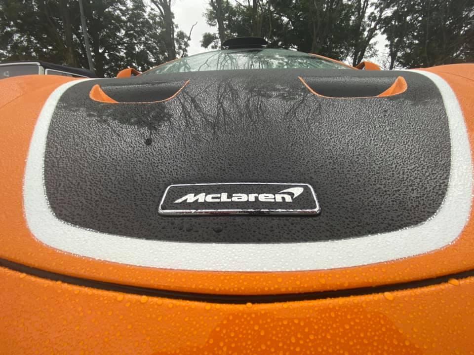 Weer een dag met vleugels!  McLaren Bye Bye Summer party 2021…